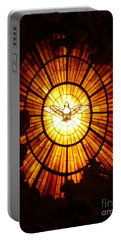 Vatican Window Portable Battery Charger by Carol Groenen