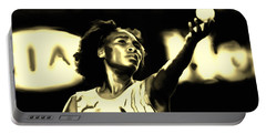 Venus Williams Match Point Portable Battery Charger by Brian Reaves