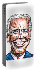 Vice President Joe Biden Portable Battery Charger by Robert Yaeger