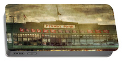 Vintage Fenway Park - Boston Portable Battery Charger by Joann Vitali