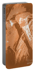Vintage Miners Hammer Artwork Portable Battery Charger by Jorgo Photography - Wall Art Gallery