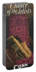 Vintage Poster Portable Battery Charger by American School