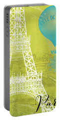 Viva La Paris Portable Battery Charger by Mindy Sommers