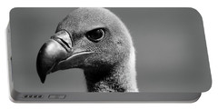 Vulture Eyes Portable Battery Charger by Martin Newman