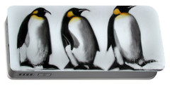 We Three Kings Portable Battery Charger by Paul Powis