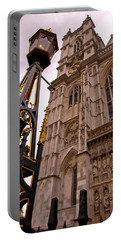 Westminster Abbey London England Portable Battery Charger by Jon Berghoff