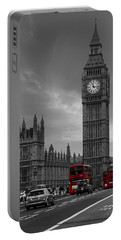 Westminster Bridge Portable Battery Charger by Martin Newman