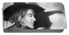Wicked Witch Of The West Portable Battery Charger by Greg Joens
