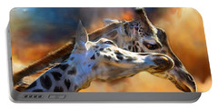 Wild Dreamers Portable Battery Charger by Carol Cavalaris