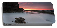 Window On Dawn Portable Battery Charger by Mike  Dawson