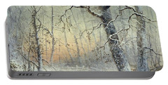 Winter Breakfast Portable Battery Charger by Joseph Farquharson