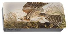 Winter Hawk Portable Battery Charger by John James Audubon