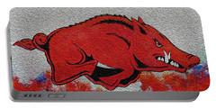 Woo Pig Sooie 2 Portable Battery Charger by Belinda Nagy