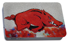 Woo Pig Sooie 2 Portable Battery Charger by Belinda Nagy