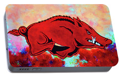 Woo Pig Sooie 3 Portable Battery Charger by Belinda Nagy