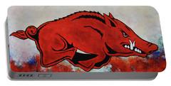 Woo Pig Sooie Portable Battery Charger by Belinda Nagy