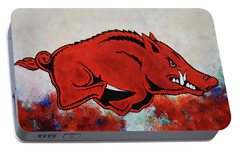Woo Pig Sooie Portable Battery Charger by Belinda Nagy