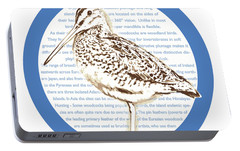Woodcock Portable Battery Charger by Greg Joens