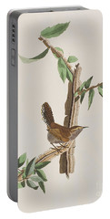 Wren Portable Battery Charger by John James Audubon