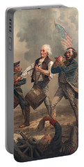 Yankee Doodle Or The Spirit Of 76 Portable Battery Charger by Archibald Willard