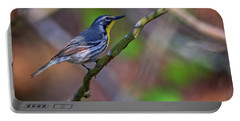 Yellow-throated Warbler Portable Battery Charger by Rick Berk