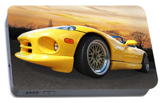 Yellow Viper Rt10 Portable Battery Charger by Gill Billington