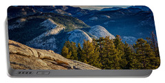 Yosemite Morning Portable Battery Charger by Rick Berk
