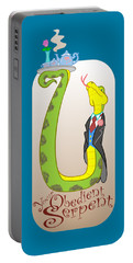 Your Obedient Serpent Portable Battery Charger by J L Meadows