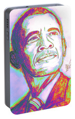 Your President  Portable Battery Charger by Collin A Clarke