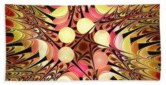 Color Fete Beach Towel by Anastasiya Malakhova