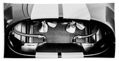 1965 Shelby Cobra Grille Beach Sheet by Jill Reger