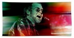 Elton John Beach Sheet by Marvin Blaine