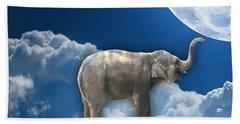 Flight Of The Elephant Beach Sheet by Marvin Blaine