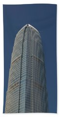 Low Angle View Of A Skyscraper, Two Beach Sheet by Panoramic Images