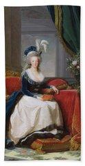 Marie Antoinette Beach Towel by Elisabeth Louise Vigee-Lebrun