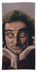 Marty Feldman Beach Sheet by Paul Meijering