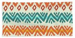 Navajo Mission Round Beach Towel by Nicholas Biscardi
