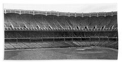New Yankee Stadium Beach Towel by Underwood Archives