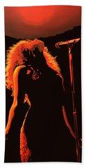 Shakira Beach Towel by Paul Meijering