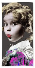 Shirley Temple Publicity Photo Circa 1935-2014 Beach Sheet by David Lee Guss