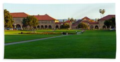 Stanford University Campus, Palo Alto Beach Sheet by Panoramic Images