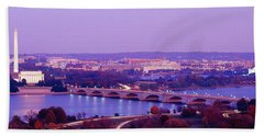 Washington Dc Beach Towel by Panoramic Images