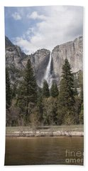 Yosemite National Park Beach Sheet by Juli Scalzi