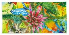 Wonders Of Nature Beach Sheet by John Francis