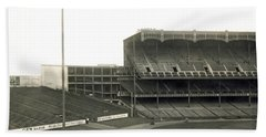 1923 Yankee Stadium Beach Towel by Underwood Archives