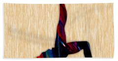 Fitness Beach Towel by Marvin Blaine