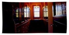 Glensheen Mansion Duluth Beach Towel by Amanda Stadther