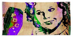 Shirley Temple Collection Beach Towel by Marvin Blaine