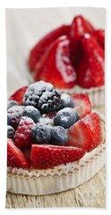 Fruit Tarts Beach Towel by Elena Elisseeva