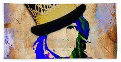 Steven Tyler Collection Beach Sheet by Marvin Blaine